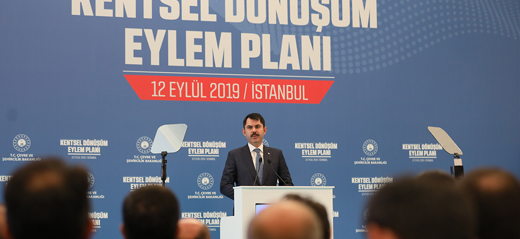 """Project targets to renew 1.5M houses in 5 years, including 500,000 in Istanbul"""