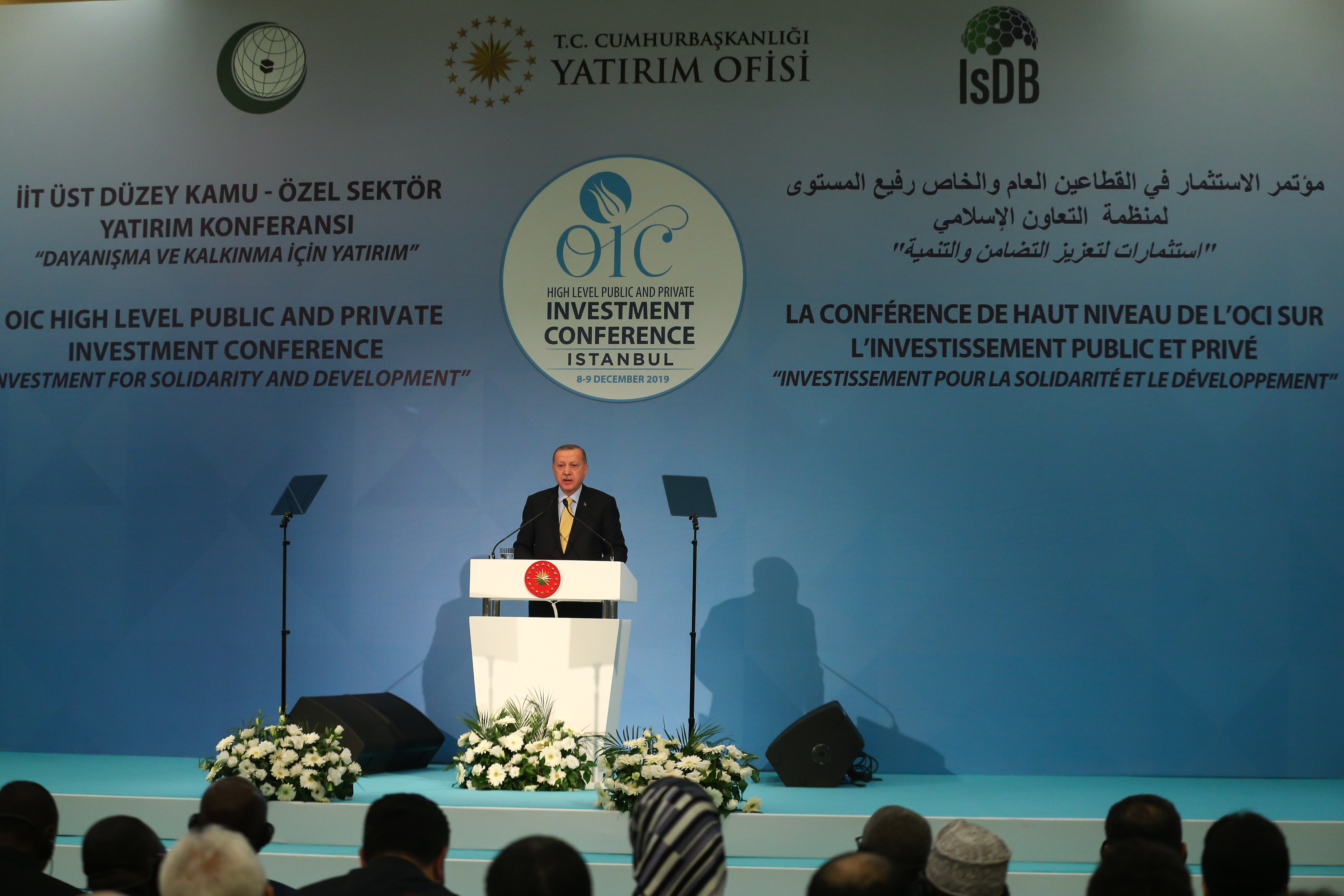 President Erdoğan speaks at the Islamic Cooperation Organization conference in Istanbul