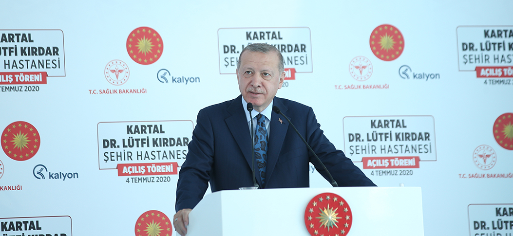 President Erdoğan: We are determined to make Turkey a healthcare hub of three continents