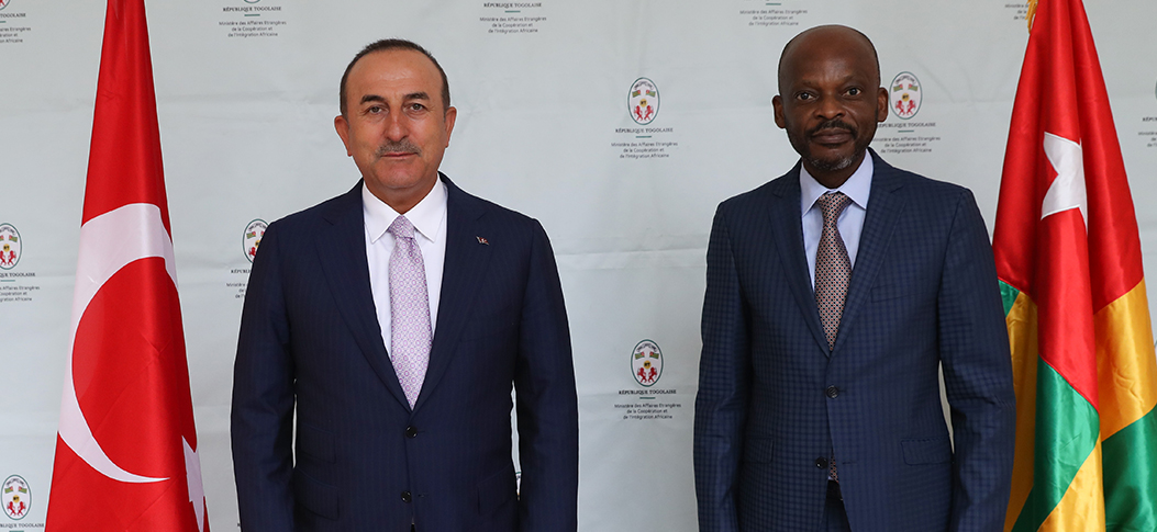 """Turkey will further develop its bilateral relations with West African nation of Togo"""