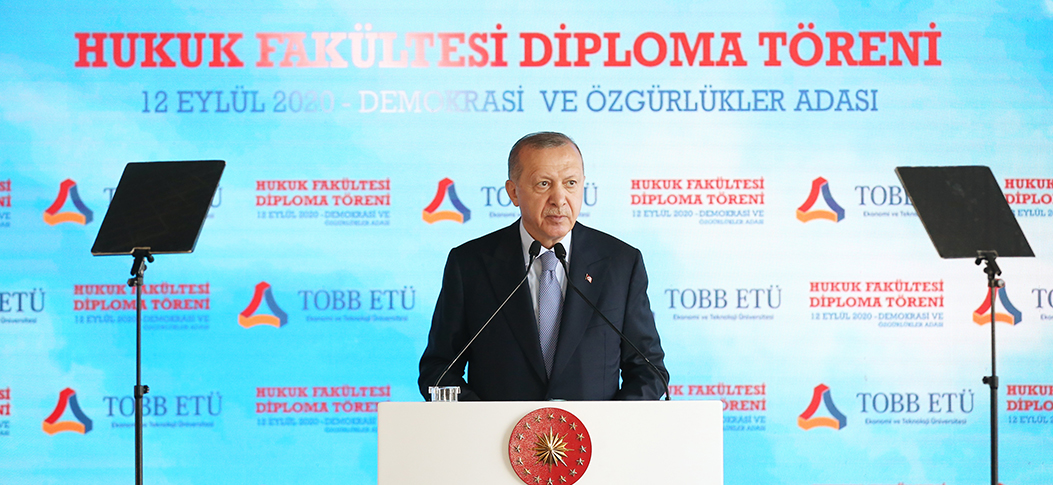 President Erdoğan: With the reforms we have implemented, we have eliminated all the traces of tutelage over our democracy