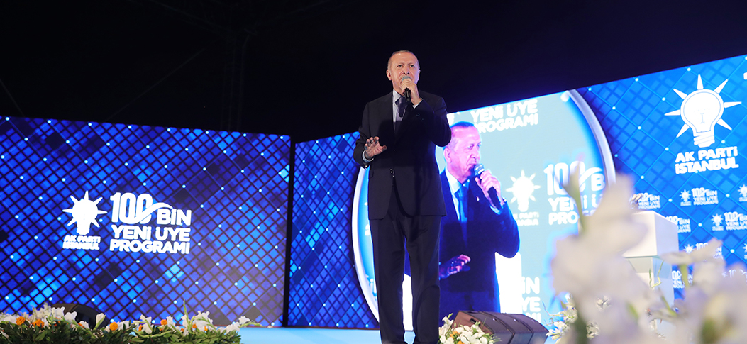 President Erdoğan: AK Party is a globally distinguished political movement with more than 10.5M members