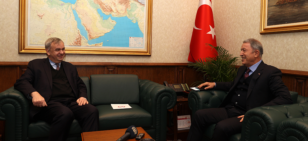 """We expect all 3rd parties to evaluate problems between Turkey, Greece objectively"""