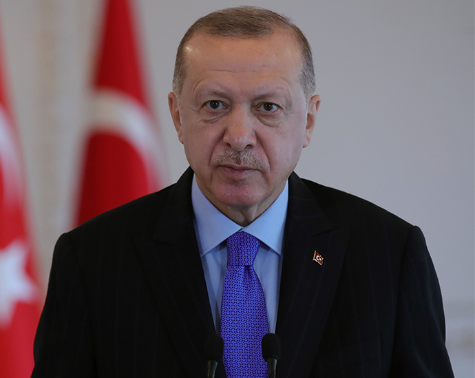 President Erdoğan addressed via videoconference the Satellite Technologies Week Special Session