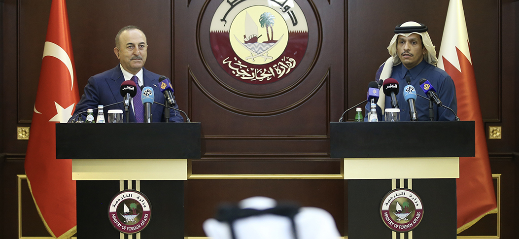 """I could gladly say that our relations, between Turkey and Qatar, grow stronger each day"""